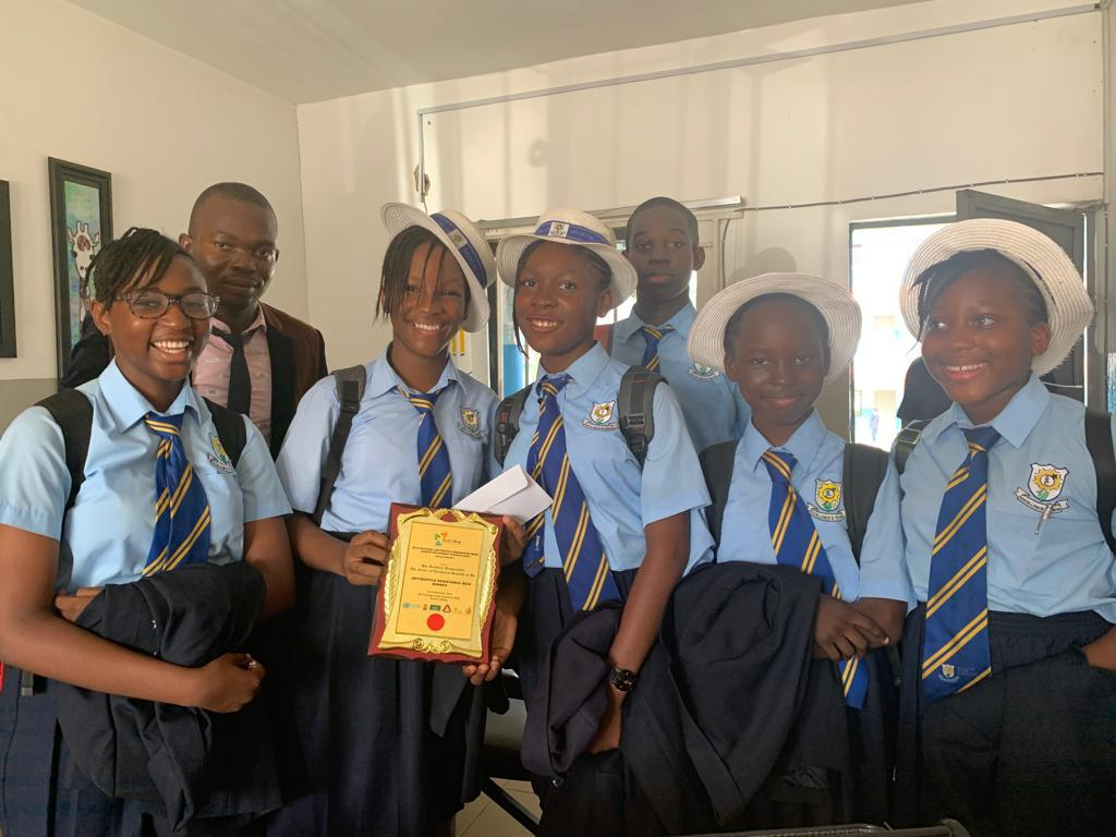 1st position; Antimicrobial Resistance (AMR) Sensitization quiz, Shining Star Group of Schools